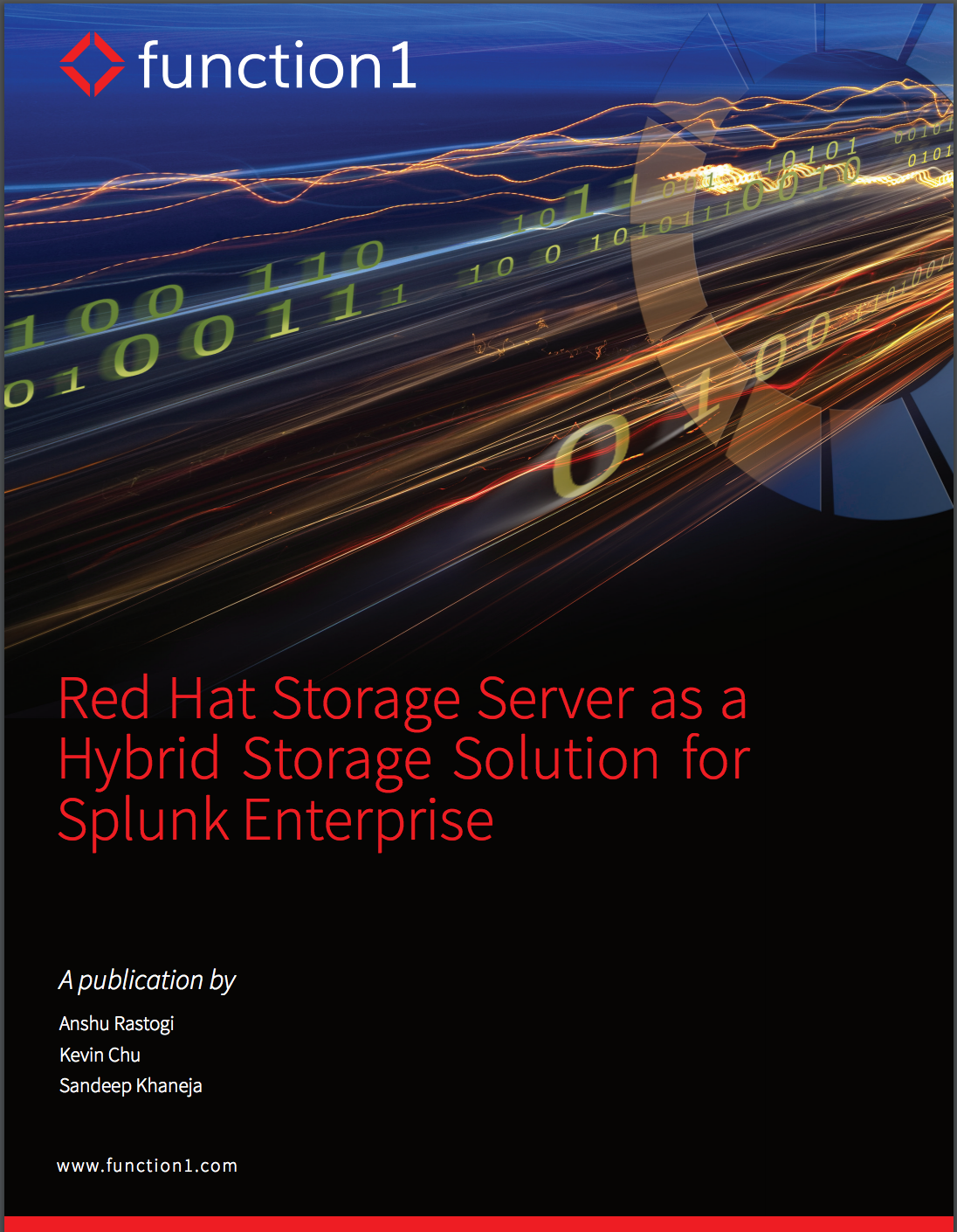 Red Hat Storage Server as a Hybrid Storage Solution for Splunk Enterprise