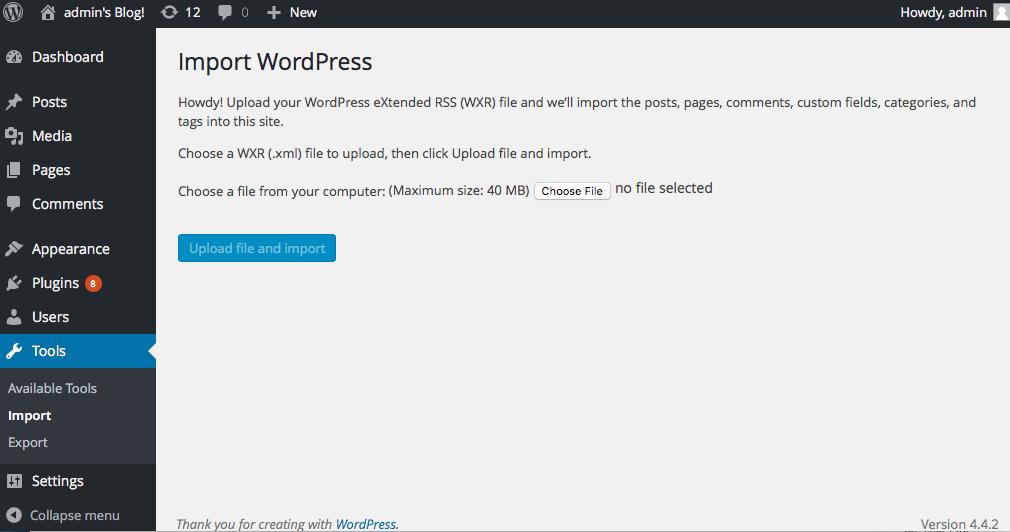 Description: Macintosh HD:Users:dbt102:Documents:Function1:blogs:Migate WordPress to Drupal 8:02_import_wordpress.png