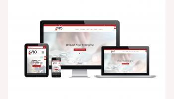 AVIO Consulting Responsive Redesign