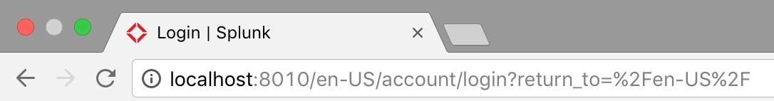 Favicon login page