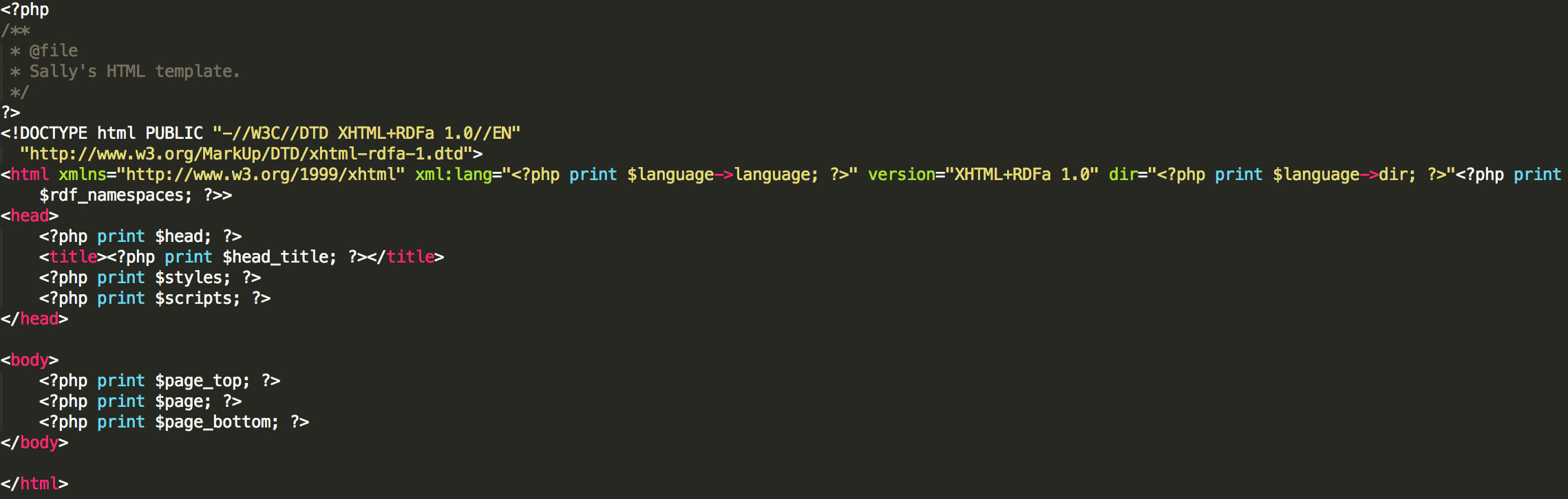 Converting Basic HTML/CSS into a Drupal Theme | Function1
