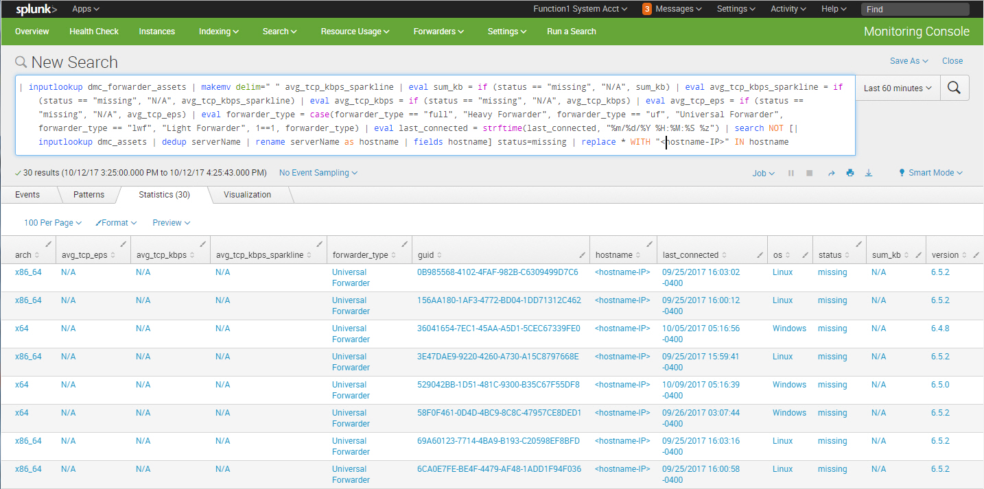 Tips & Tricks: Splunk's Monitoring Console | Function1