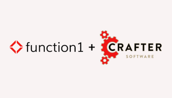 Function1 and Crafter Partner to Deliver Better Digital Experiences