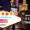 Las Vegas Welcome Sign with Splunk .conf19 logo