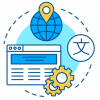 Website Localization Illustration